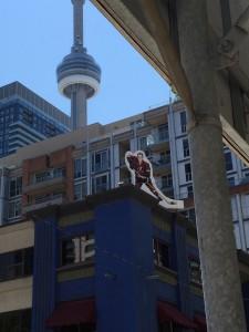 Hockeyn är som bekant stor i Toronto och hela Kanada..