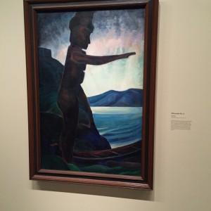 Emily Carr inspirerad av och solidarisk med ursprungsbefolkningen i separatutställning på AGO-museet i Tornoto.