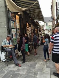 Quebecs turistkvarter i den gamla staden.