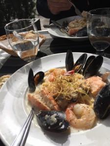Inga turistfällor. God mat och trevlig atmosfär i Quebecs gamla stadskärna.