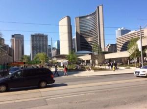 Toronto, finanscentrum i Kanada handlar mer med olja än pälsar.