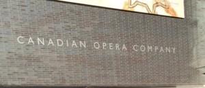 Operan i Toronto -känt för bl a balette Skönheten och odjuret.