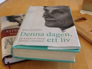 Två aktuella läsvärda  böcker om och av Astrid Lindgren.